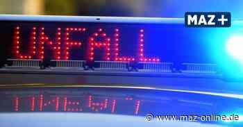 B 189 bei Wittenberge: Auffahrunfall mit hohem Schaden - Märkische Allgemeine Zeitung