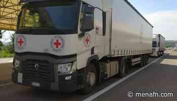 Red Cross sends humanitarian aid to Donetsk, Luhansk regions - MENAFN.COM