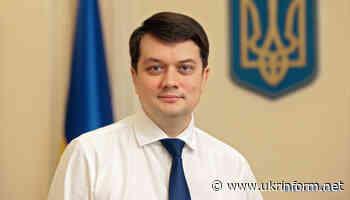 Razumkov to visit Luhansk, Donetsk, Kharkiv regions - Ukrinform. Ukraine and world news