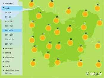 La météo de ce jeudi 30 juillet à Pont-Audemer - L'Eveil de Pont-Audemer