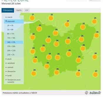 La météo de ce mercredi 29 juillet 2020 à Pont-Audemer - L'Eveil de Pont-Audemer