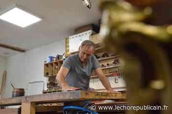 Serge Chaillou redonne vie aux objets d'art à Nogent-le-Rotrou - Echo Républicain