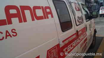 En ambulancia muere un hombre al parecer por Covid en Tecamachalco - Municipios Puebla