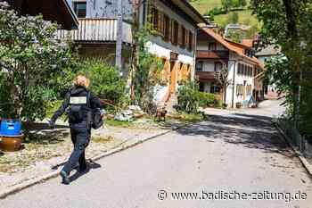 Staatsanwaltschaft erhebt Anklage wegen Mordes in Zell-Riedichen - Zell im Wiesental - Badische Zeitung