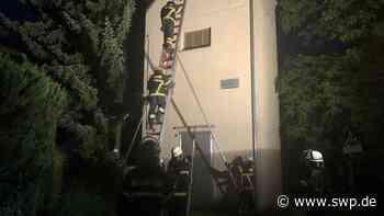 Feuerwehr in Zell: Heißluftballon gerät in Oberleitung - SWP
