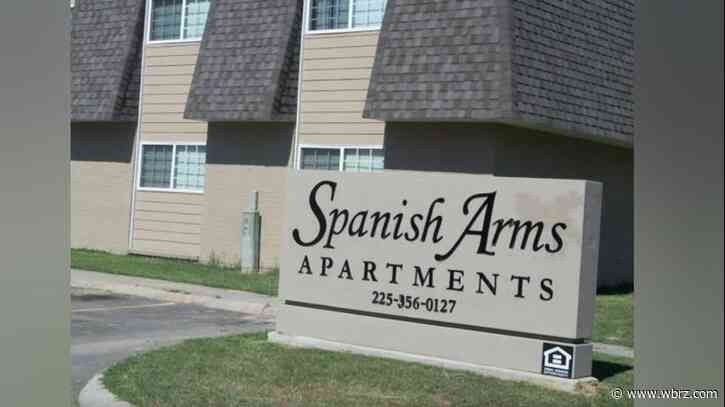 Firefighter injured while responding to incident at Spanish Arms Apartments