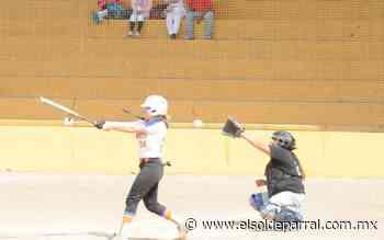 Softbol femenil podría tener acción hasta enero - El Sol de Parral