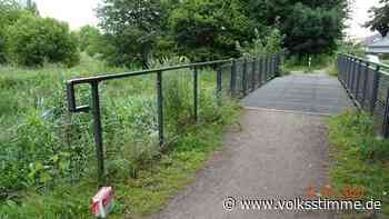 Gardelegen: Geländerfelder von Brücke gestohlen - Volksstimme