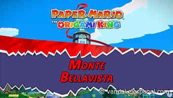 Monte Bellavista al 100% en Paper Mario: The Origami King - Vandal