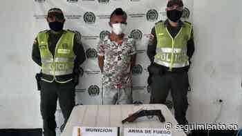 Capturan a alias 'El Bumba' en Ariguaní; disparó contra la Policía - Seguimiento.co