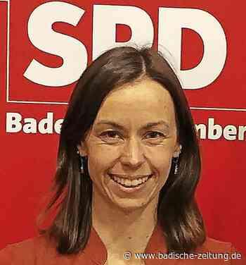 Jennifer Sühr führt die SPD - Kirchzarten - Badische Zeitung