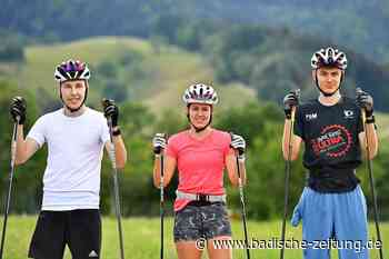 Wie die Zipfel-Brüder: Jugendtrio des SV Kirchzarten im Nationalkader - Skilanglauf - Badische Zeitung