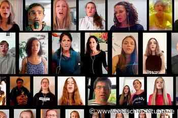 Musiklehrer aus Kirchzarten bastelt aus 30 Stimmen ein Musikvideo - Kirchzarten - Badische Zeitung