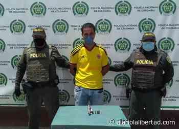 Capturado en el Barrio 'Hary Fuminaya', de Maicao por porte ilegal de arma de fuego - Diario La Libertad