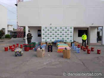 Polfa decomisa en Maicao, mercancía avaluada en 12 millones de pesos - Diario La Libertad
