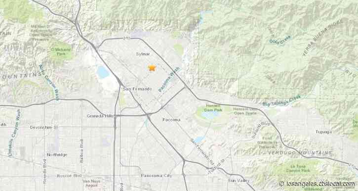 4.2-Magnitude Earthquake Hits Pacoima, Rocks Southland
