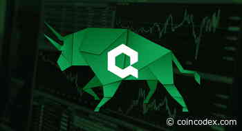 Quant Network Price Analysis - QNT Surges As Interoperability Test Starts With SIA | CoinCodex - CoinCodex