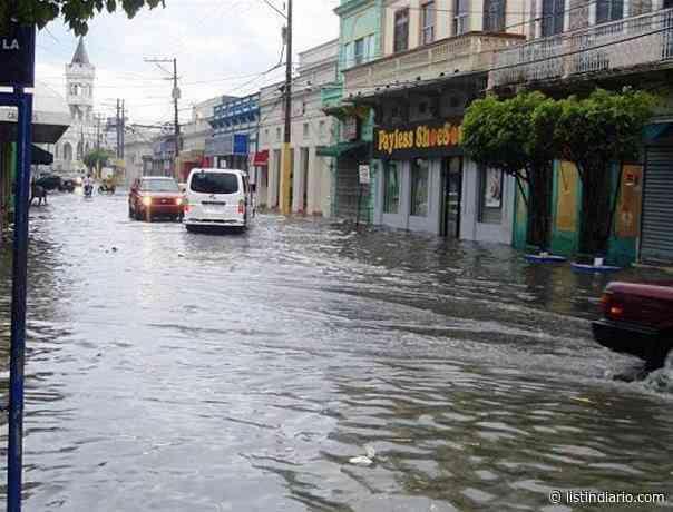 El Gran Santo Domingo y otras cuatro provincias en alerta roja - Listín Diario