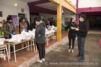 San Isidro: entregaron alimentos y material didáctico en la Escuela Santo Domingo Savio - Zona Norte Diario OnLine