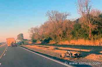 Siniestro fatal en la Ruta 4, cerca de Santo Domingo - El Litoral
