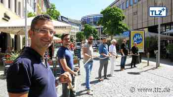 Gastronomen laden in Geras Innenstadt - Thüringische Landeszeitung