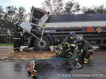 Motorista que morreu em acidente na MS-379 faria entrega em Laguna Carapã - Jornal Midiamax