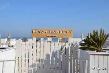 Knokse strandbars Beach Number 1 en Vintage open na negatieve coronatests