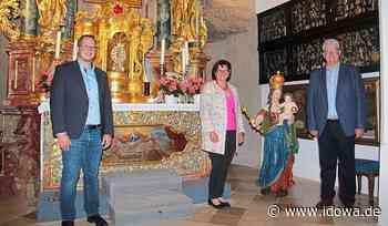 Landau an der Isar: Die Renovierung der Steinfelskirche ist abgeschlossen - idowa