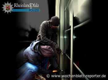 Einbruch in Rheinzabern: Urlaubsrückkehrer überraschen Diebe - Jockgrim - Wochenblatt-Reporter