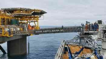 Commissioning Support Contract Goes to Ampelmann