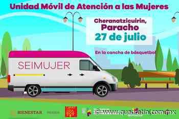 Llegará a Paracho unidad móvil de atención a violencia de género - Quadratín - Quadratín Michoacán