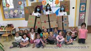 Montreuil : Des enfants heureux au centre de loisirs - Le Journal de Montreuil