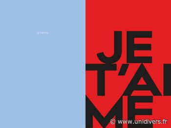 Atelier « emo-typo » Centre Tignous d'art contemporain samedi 19 septembre 2020 - Unidivers
