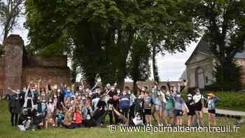 Montreuil : Les jeunes à la découverte du patrimoine médiéval (vidéo) - Le Journal de Montreuil