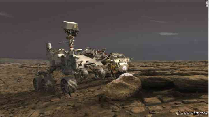 LSU alum assists in NASA's historic launch of Mars rover