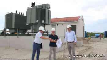 Baustellenbesichtigung zum neuen Umspannwerk für Olching an der B 471 - Kreisbote