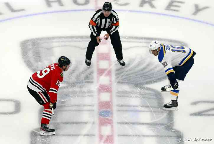 Chicago Blackhawks: Lots to build on from Blues exhibition