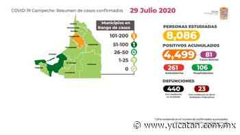Campeche: con tan solo 279 casos activos; busca a los asintomáticos - El Diario de Yucatán