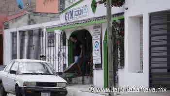 Clausuran gimnasio en Campeche que operaba pese a la alerta naranja - La Jornada Maya