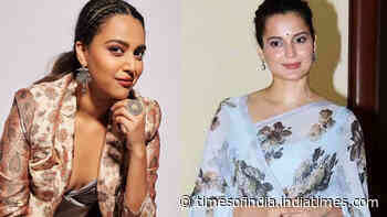 Swara Bhasker on Kangana Ranaut's 'B grade actress' remark, says, 'I wasn't shocked with it'