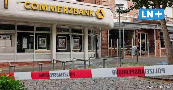Geldautomat der Commerzbank in Bad Bramstedt gesprengt: Täter gefasst - Lübecker Nachrichten