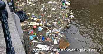 Petition calls for Salford Quays clean as rubbish pile 'grows bigger by the day'