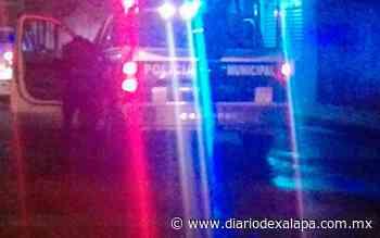 Disparan a mujer policía en Coatepec - Diario de Xalapa