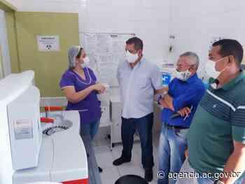 Vice-governador visita Unidade Mista de Saúde de Assis Brasil e conversa com servidores sobre melhorias - Agência de Notícias do Acre