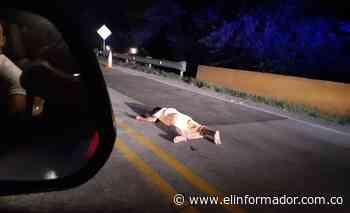 Hallan cuerpo sin vida en la carretera Troncal de Oriente - El Informador - Santa Marta