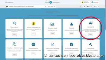 Umuarama divulga gastos do combate à covid-19 em Portal da Transparência - ® Portal da Cidade   Umuarama