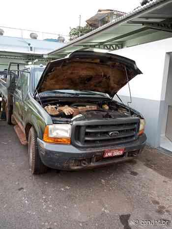 Caminhonete roubada em Umuarama é recuperada em Campo Mourão - CGN