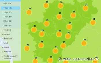 Météo: chaud, avec 39°C à Angoulême et Cognac! - Charente Libre