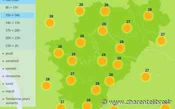 Météo: très beau temps avec 31°C à Angoulême et Cognac - Charente Libre