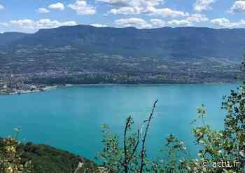 Près de Lyon : pendant quelques jours, le lac du Bourget prend une couleur vert émeraude - actu.fr